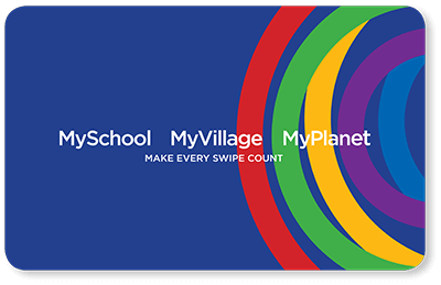 MySchoolMyVillageMyPlanet card