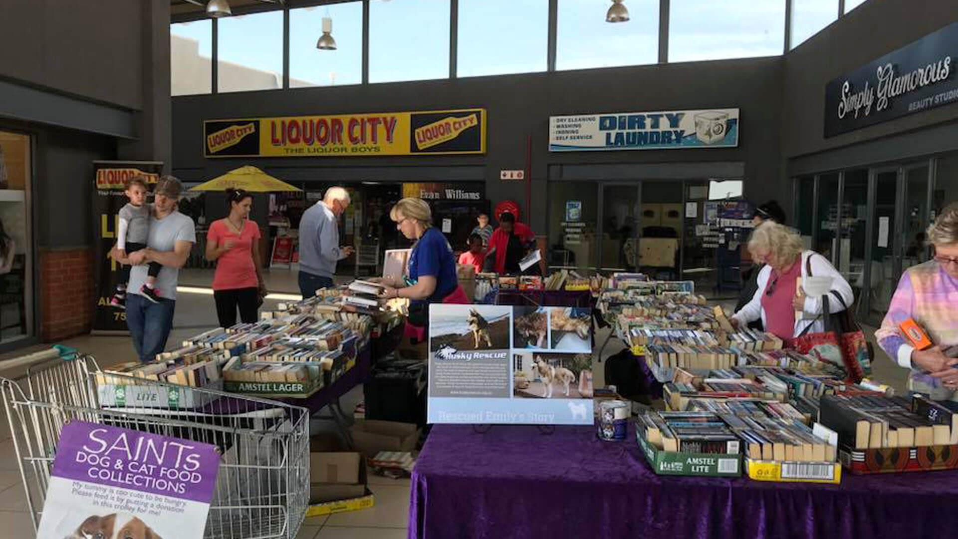 Saints Book Sale